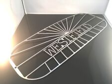 WESTFIELD Nose Cone Logo grill  Stainless Narrow size nose  Early post lit cars