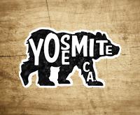 "Yosemite National Park Decal Sticker 3.8"" x 2.4"" California Bear"