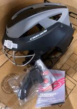 Cascade Lx Women's Lacrosse Headgear, New with Tags, Black/Gray Helmet