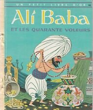 LITTLE GOLDEN BOOK FOREIGN FROM PARIS FRANCE ALI BABA 1958 VERY GOOD CONDITION