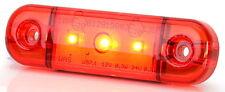 LED Umrissleuchte rot Begrenzungsleuchte 12V oder 24V Positionsleuchte