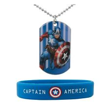 Dogtag & Wrist Bracelet Captain America by Marvel
