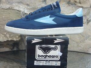 Vintage 1980s Bagheera Durango UK10 / EU44 Deadstock Sneakers OG Sweden Trainers