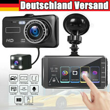 """4"""" Auto Kamera Rearview Recorder KFZ DVR Dashcam HD 1080P Video Nachtsicht 170°"""