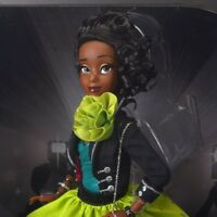 Tiana Disney Designer Collection Premiere Series Doll - Limited Edition Belle