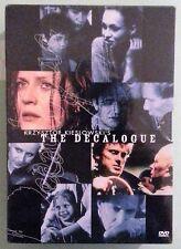 krzysztof kieslowski's THE DECALOGUE   DVD NEW genuine region 1