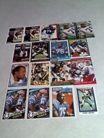 *****Chris Hinton*****  Lot of 85+ cards.....31 DIFFERENT / Football
