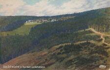 Ansichtskarte Die Schmücke Thür. Wald vom Sachsenstein um 1920 (Nr.795) -II