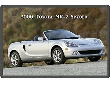 2000 Toyota MR-2 Spyder Convertible  Refrigerator / Tool Box  Magnet