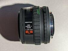 Pentax-F 35-70mm f3.5-4.5 Full Frame AF Zoom Lens - Excellent Condition