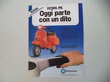 advertising Pubblicità 1983 VESPA PK 50 S ELESTART