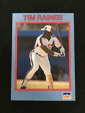 """TIM RAINES ODD BALL """"STARLINE"""" 1990 MONTREAL EXPOS BASEBALL CARD"""