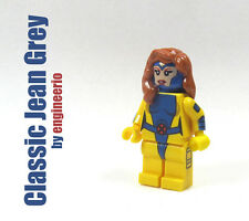 LEGO Custom - Jean Grey - Marvel Super heroes mini figure X-men cyclops gray