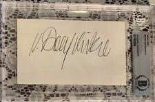 MIKHAIL BARYSHNIKOV Misha Signed Index Card Authentic Autograph Slabbed BGS BAS