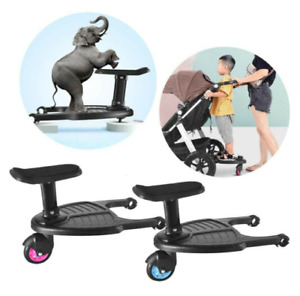 Buggy Stroller Step Board Stand Toddler Child Kids Wheeled Pushchair Connectors