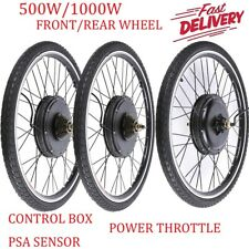 "26"" Electric Bicycle E Bike Conversion Kit Front Rear Wheel 500W~1500W  NEW!!"