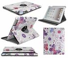 For Apple iPad Mini NEW 360 Degree Rotating PU Leather Case Cover w Swivel Stand