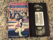 LO MEJOR DE LA BANDA RARE VHS SPANISH MEXI BANDA JINETES, VERONICA MARTINEZ OOP!