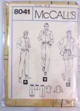 McCall's  sewing pattern no.8041 Men's track pants, shirt size 38