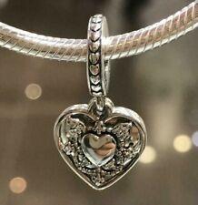NEW Genuine Pandora My Wife Always Dangle Charm 792099CZ Heart Love Anniversary