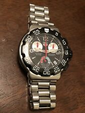 mens tag heuer watch formula 1 (NOT WORKING)