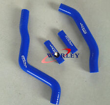 For Kawasaki KX125 KX 125 2005 2006 2007 05 06 07 silicone radiator hose BLUE