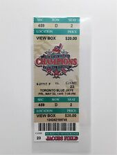 MLB 1998 05/22 Toronto Blue Jays at Cleveland Indians /Jacobs Field