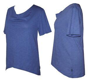 Schneider Sportswear Damen Zipfelshirt Shirt Bluse T-Shirt blau Gr. 40 (M)