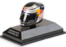 1/8 Sebastian Vettel Red Bull Silverstone 2009 Arai Helmet Minichamps 381090301