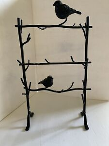 Decorative Bird Stand For Hanging Jewelry Or Winding Flowers Or Greenery Around