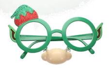Lunettes verts noël pour déguisements et costumes