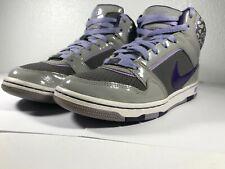 Nike Women's Prestige 3 Skinny High Grey / Purple / Leopard 574686 055 Size 6