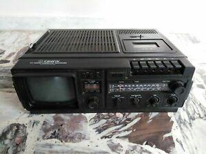 Televisore 10 pollici Orion radio tv cassette recorder