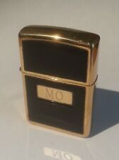 Vintage Zippo Lighter Brass with leather 1996 (HB187)