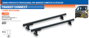Barre Portatutto PROFESSIONAL Premontate Ford Transit Connect (14..)    GEV 9410