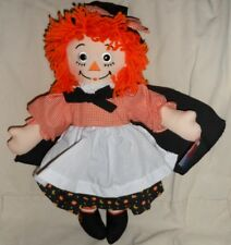 "NEW 15"" MWT 85th Birthday  Raggedy Ann in a Halloween Witch Costume"