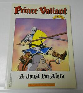 1987 PRINCE VALIANT v.31 Joust For Aleta HAL FOSTER Fantagraphics VF 1st Ed.