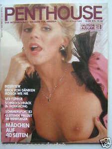 """Penthouse (D) 6/1983, Iva Davies, Mel Gibson, """"Die Mainzelmännchen"""","""
