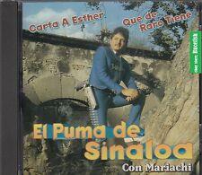 El Puma de Sinaloa Con Mariachi CD New Nuevo sealed