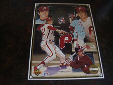 1992 Upper Deck---Heroes Of Baseball Sheet---Phillies---Stadiun Giveaway---8x11