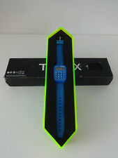 Watch Retro Calculator Timex 80 Blue Digital Display Boxed Mens Womens Unisex