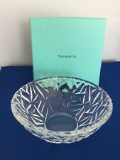 Beautiful Tiffany &  Co.  Crystal Small Bowl Made In Germany