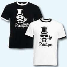 T-Shirt Trikot, JGA Team Bräutigam Junggesellenabschied, Hipster, schwarz