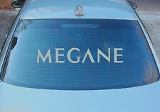 MEGANE GRANDE LUNOTTO POSTERIORE ADESIVO GRAFICHE 580mm x 100 mm colore a scelta