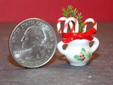 Dollhouse Miniature Christmas Candy Canes Jar F 1:12 scale G64 Dollys Gallery