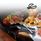 Stainless Steel Bbq Buffet Salad Bread Food Tongs Clip Kitchen Clamp Serving DIY