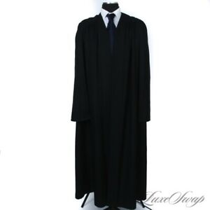 Vintage J. Wippell Made in England University Outfitters Black Scholarly Robe 44