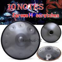 "22 ""10 Notes Professional Hand Drum Handmade Good Sound Professional"