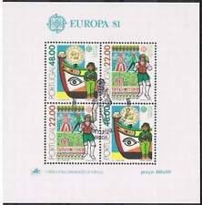 Portugal gestempeld 1981 blok 32 - Europa