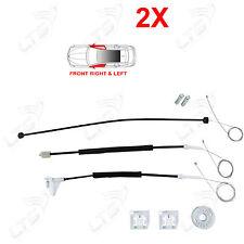 2X Kit De Reparación Skoda Octavia ventana regulador derecho delantero izquierda 1U0837461B